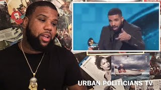 Drake Grammy Award Acceptance Speech Cut Short