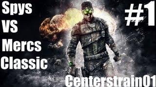 Splinter Cell Blacklist - Multiplayer - Spys VS Mercs - Classic Match #1