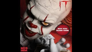 big Bad Toy Store pre order MEZCO TOYZ IT movie 2017  Pennywise the clown mega scale figure