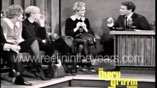 Andy Warhol & Edie Sedgwick Interview (Merv Griffin Show 1965)