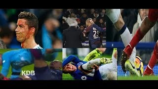 Cristiano Ronaldo & Kylian Mbappe & Jemes makarthi Horrible  Injuries