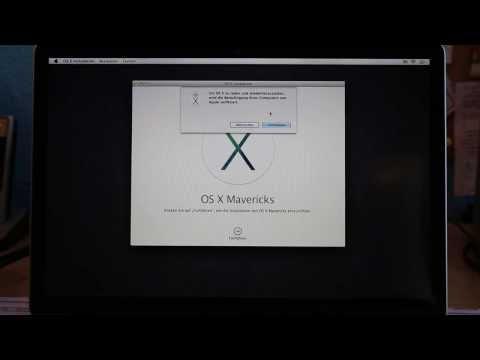 MAC OS X Mavericks Neu Installieren bzw. Formatieren