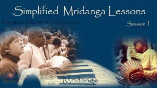 Simplified Mridangam Lessons (Lesson - 1) in Hindi by Bal Govind Das