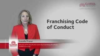The Franchising Code of Conduct