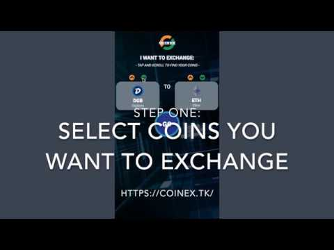 Instant CryptoCurrency Exchange at CoinEx.TK