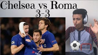 Chelsea vs Roma 3-3 - All Goals & Highlights - 18/10/2017 HD - Reaction