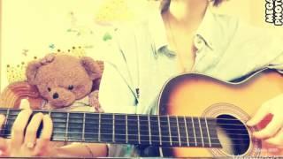 Đừng Hát Khi Buồn guitar cover by Hường Kẹo