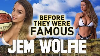 JEM WOLFIE - Before They Were Famous - Instagram Star / Fitness Model