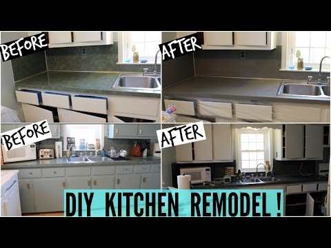DIY KITCHEN REMODEL! (Part 1)