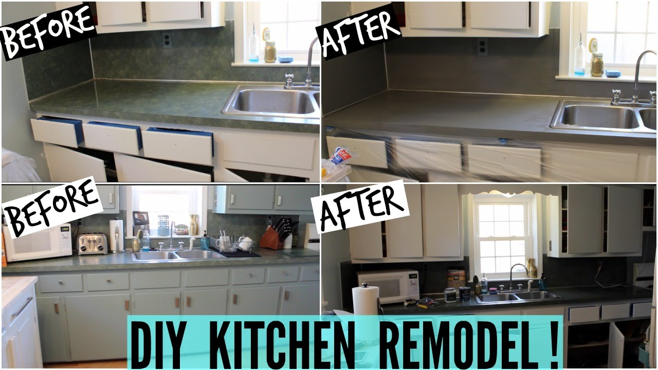 Diy Kitchen Remodel Part 1