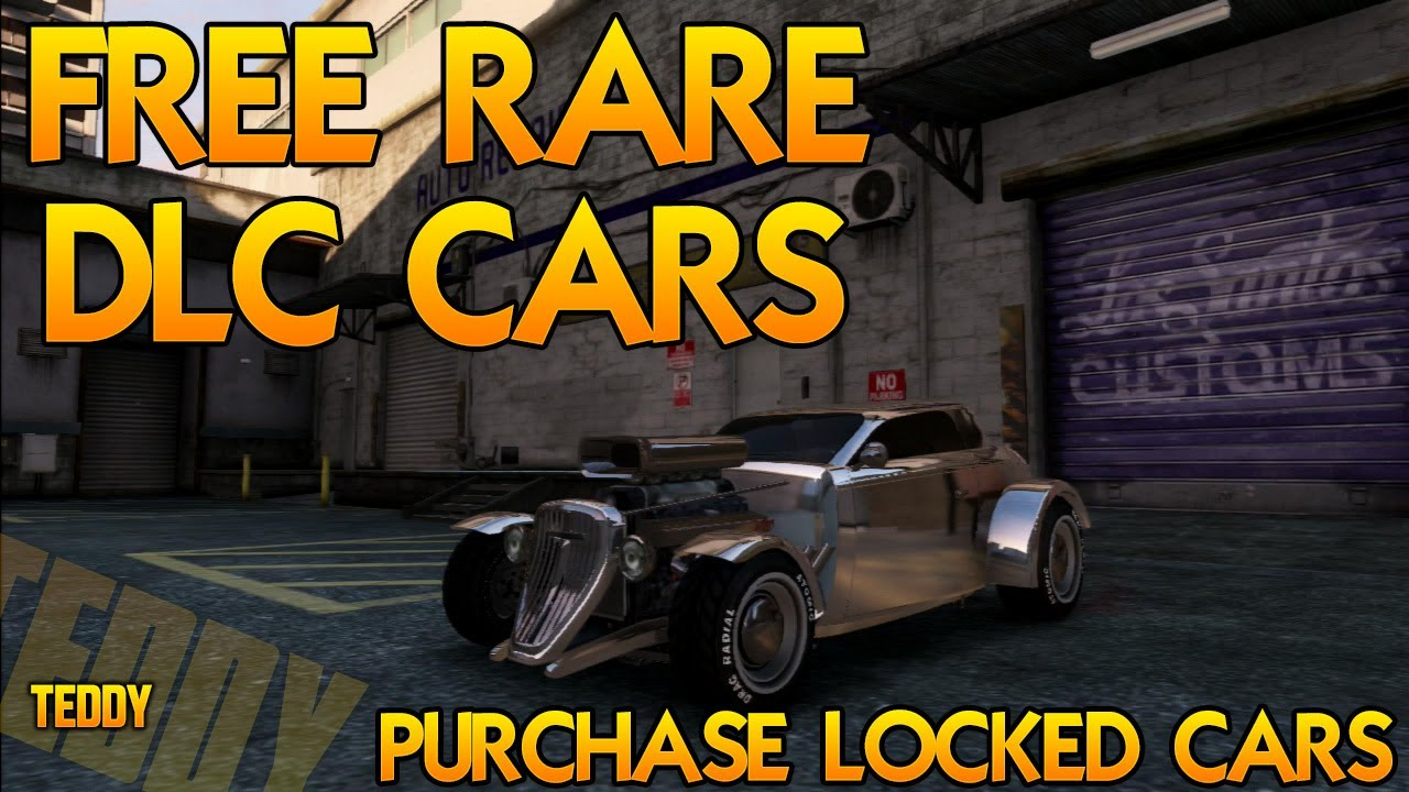 GTA 5 ONLINE: FREE RARE DLC CARS