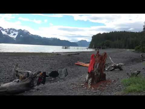 Kayaking Caines Head Alaska
