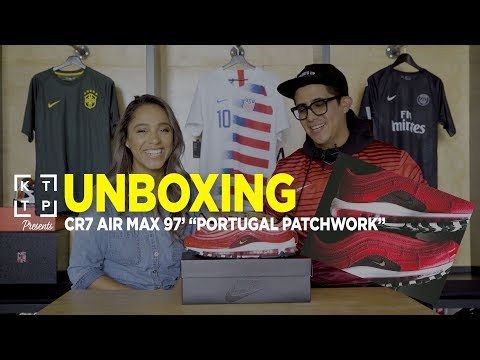 "Unboxing Cristiano Ronaldo's Nike Air Max 97 CR7 ""Portugal"