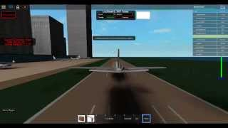 Roblox Lockheed L-1011 TriStar take-off