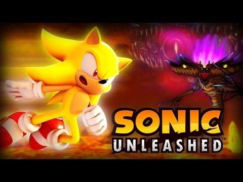 Sonic Unleashed - Eggmanland - Final Boss - Dark Gaia ~ S-Rank (HD)