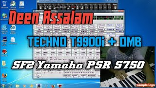 Deen Assalam - Dangdut instrumen Manual OMB + SF2 Yamaha PSR S750
