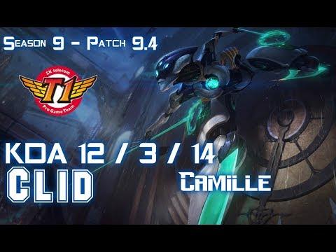 SKT Clid CAMILLE vs JARVAN IV Jungle - Patch 9.4 KR Ranked