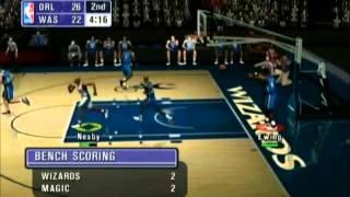 NBA Inside Drive 2002 Magic vs Wizards Part 1