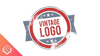 Inkscape Tutorial: Vintage Logo with Scratched Texture