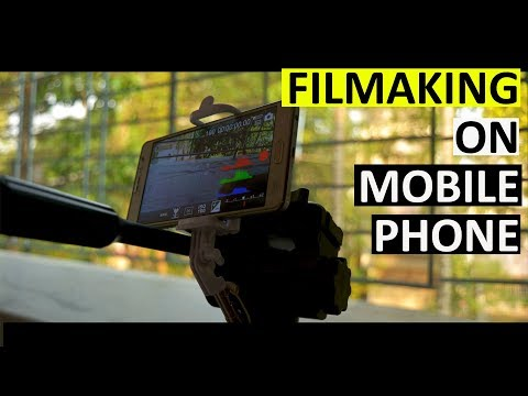 How To Make Film In Mobile || Best Film Making Android App📽🎥