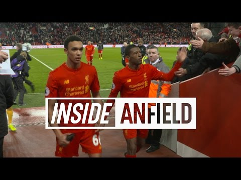 Inside Anfield: Liverpool 3-1 Arsenal | TUNNEL CAM AND GOALS!