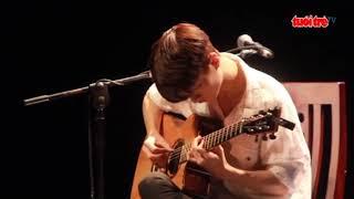 Tuổi Trẻ TV - Thần đồng guitar Hàn Quốc Sungha Jung chia sẻ về fingerstyle