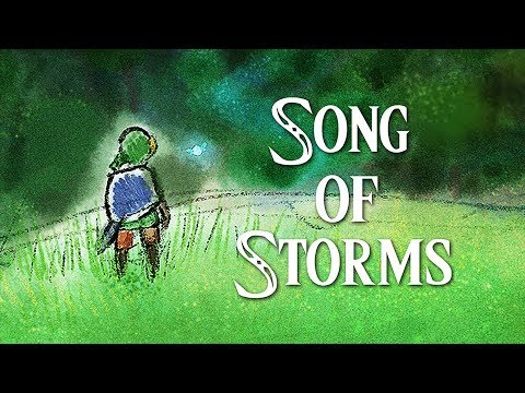 【piano+rainymood】Song of Storms III 🌧🎵