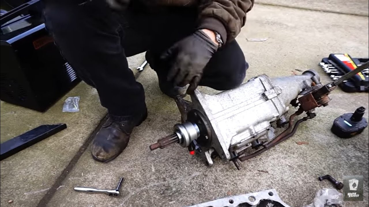 97 99 Hydraulic Throwout Bearing Conversion For Chevy 4 Speed Muncie  U0026 Borg Warner T10