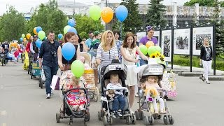 Парад детских колясок в Одинцово