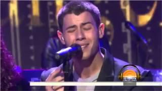 "Nick Jonas Performs ""Jealous"" on Today Show"