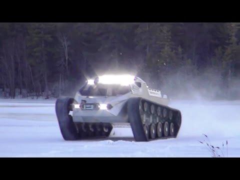 Howe & Howe Technologies - Ripsaw EV 2 Ground Vehicle Testing [720p]