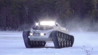 Howe & Howe Technologies - Ripsaw EV 2 Ground Vehicle Testing [720p]