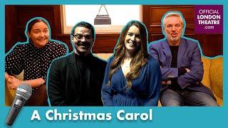 Brian Conley, Lucie Jones, Jacqueline Jossa & Matt Jay-Willis chat A Christmas Carol | #BackOnStage