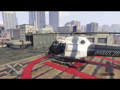 GTA 5 Online : Pacific Standard Heist: The Secret To Getting Helicopter EVERY TIME!! *After 1.41*