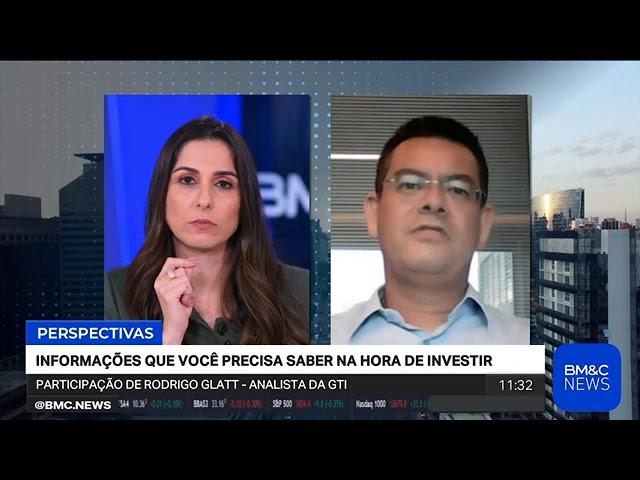 Rodrigo Glatt na BM&C News: Petrobras tem forte queda na Bovespa após pressão de Bolsonaro
