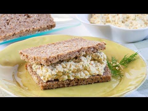 How to Make Egg Salad Sandwich - Best Egg Salad Sandwich Recipe