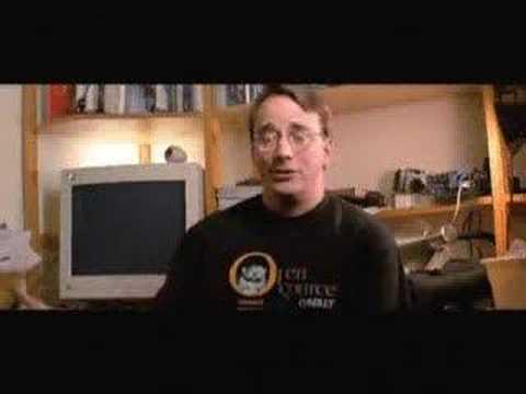 Linus Torvalds on GNU/Linux