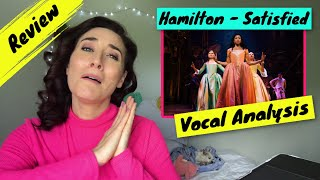 Vocal Coach Reacts Hamilton - Satisfied | WOW! She was...
