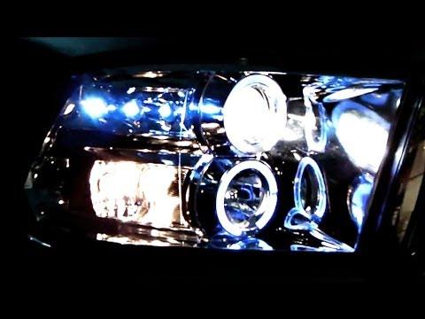 spec d tuning dodge ram projector headlights installation. Black Bedroom Furniture Sets. Home Design Ideas