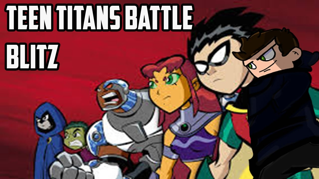 Old School Cartoon Network Games Teen Titans Battle Blitz Youtube