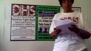 Families Fight Back DHS Public Docket Litigation Referral Post Social Worker Crimes 1st Encounter