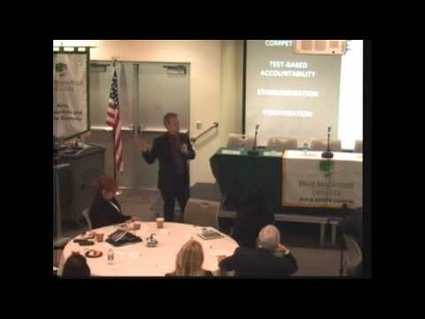 A conversation with Dr. Pasi Sahlbeg, February 7th, 2013, Palm Beach State College