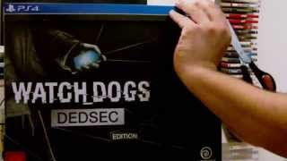 [Unboxing] Watch Dogs DEDSEC Edition (PS4) (English Sub)