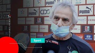 Vahid: «Mon objectif est de faire qualifier le Maroc à la Coupe du monde»