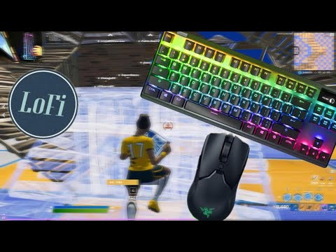 Steel Series Apex Pro ASMR Chill Keyboard Sounds Fortnite The Pit FFA Optical Switch 240 FPS 1440p