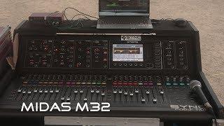 cek Sound Mixer Midas M32 Digital Console Live Panggung - Twins Sound System