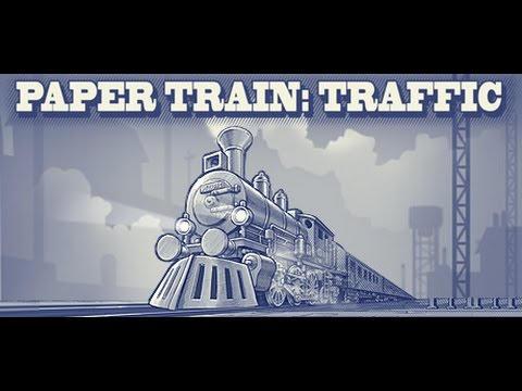 Paper Train: Traffic - Gameplay + Giveaway