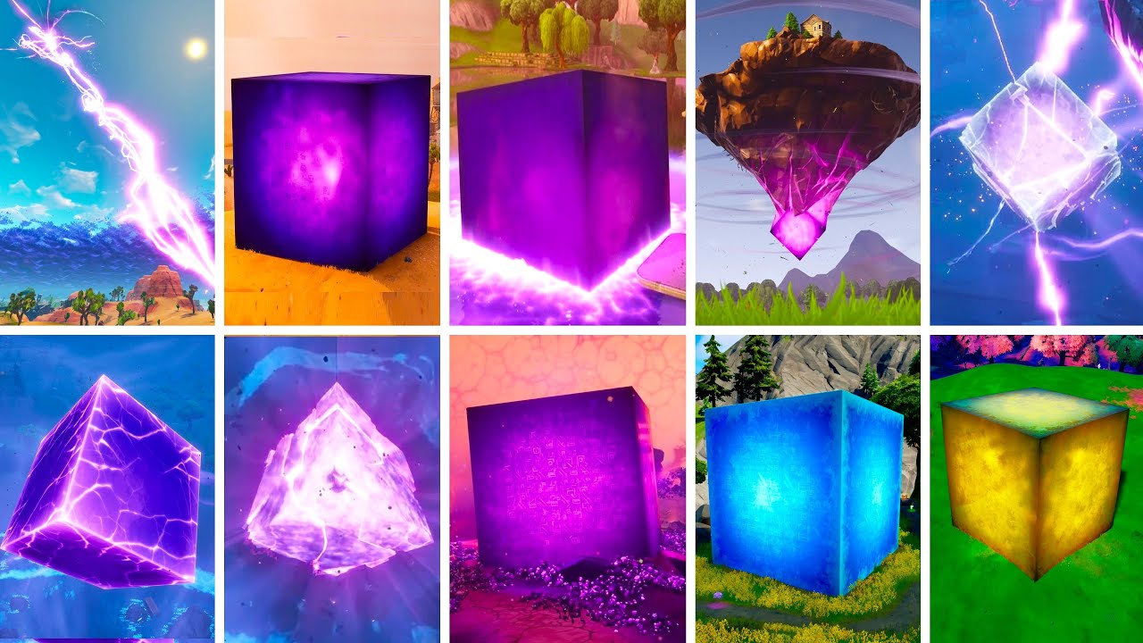 Download Evolution of Kevin The Cube - Fortnite Chapter 1 Season 1 to Chapter 2 Season 8