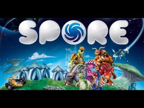 Видео обзор игры — Spore.