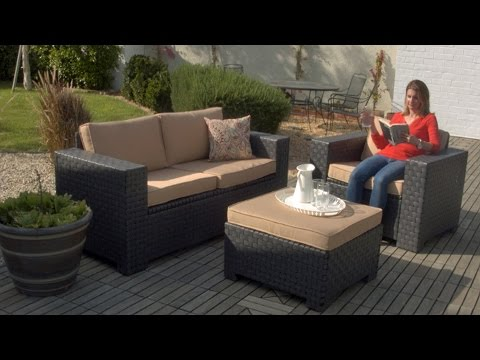Outdoor furniture perfect for any patio or a small balcony